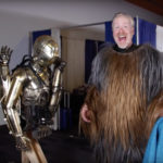 Adam Savage Chewbacca with C3PO