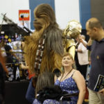 Adam Savage Chewbacca at Silicon Valley Comic Con