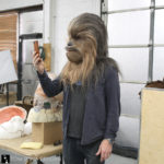 Chewbacca Mask for Adam Savage