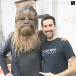Adam Savage chewbacca costume mask