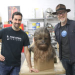 Chewbacca mask with Tom Spin and Adam Savage