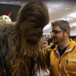 Adam Savage Chewbacca costume and mask
