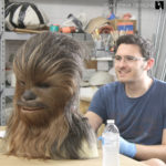 Chewbacca mask we made for Adam Savage at SVCC