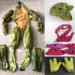 TMNT Tour Costume Restoration and Display