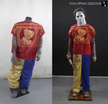 custom mannequin for Rob Zombie Halloween clown costume