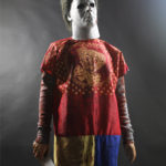 Michael Myers Halloween Clown Costume Display