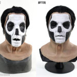 Ghost Papa 3 Mask silicone restoration