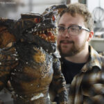 Gremlins 1 Movie Prop Puppet and Ricky Vitus
