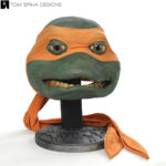 Teenage Mutant Ninja Turtles Michelangelo Mask Restoration