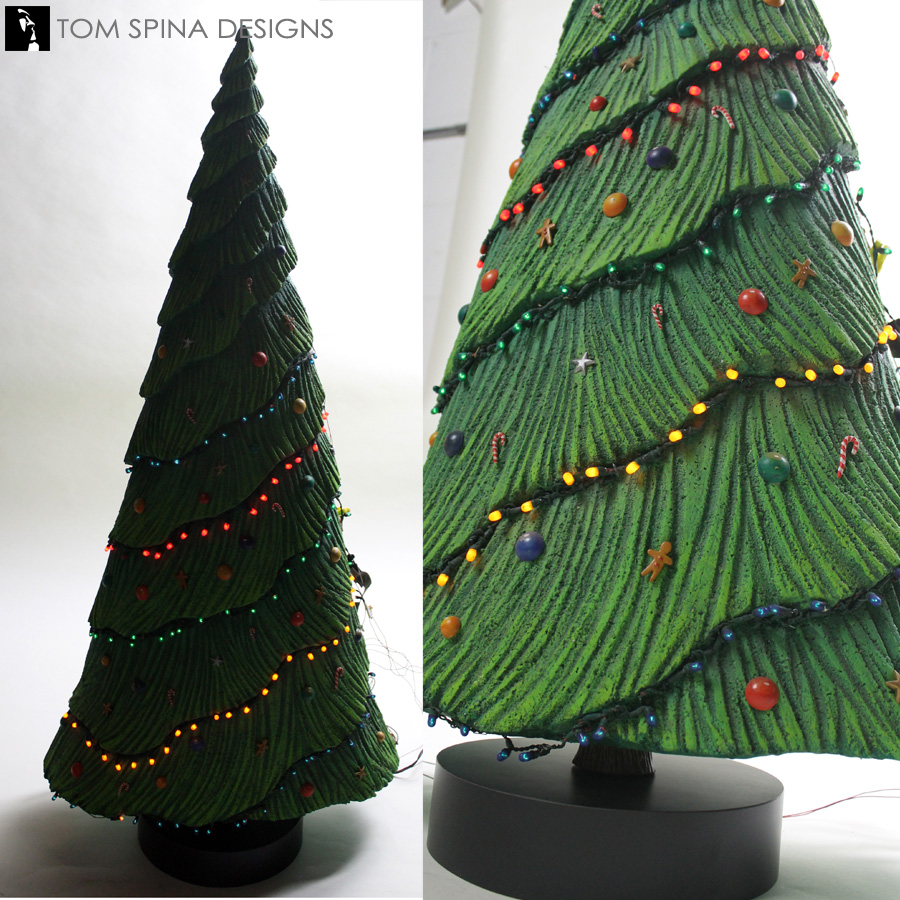 Nightmare Before Christmas Tree Movie Prop Restoration Tom Spina