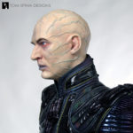 Star Trek wax statue of Shinzon