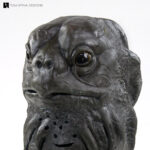 Doctor Who Sea Devil Mask Conservation of latex prop