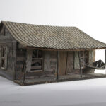 themed diorama display for screen used prop