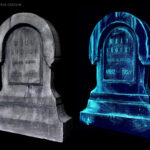 custom carved tombstone Halloween props for home haunt