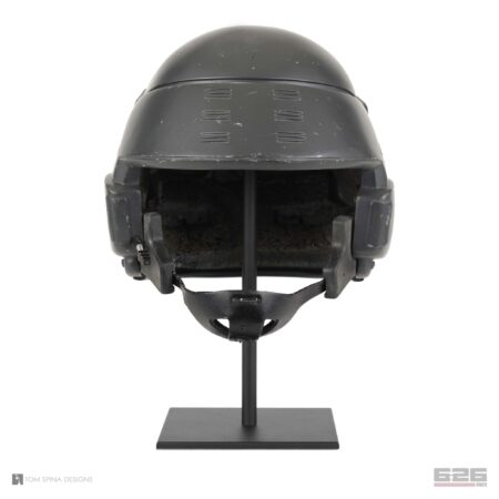 simple metal display stand for helmets